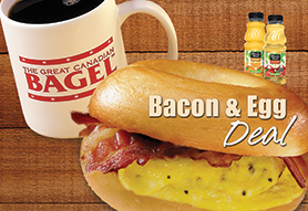 Bacon & Egg Deal