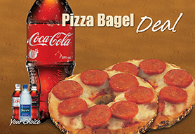 Pizza Bagel Deal