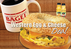 Western Egg & Cheese Deal
